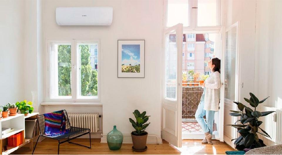Bosch Climate 5000 RAC в помещении