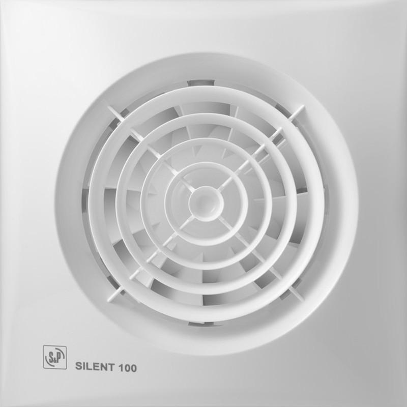 ≋ Soler&Palau Silent-100 CZ (5210400700) • купить в магазине VENCON.ua • Soler&Palau Silent-100 CZ (5210400700) отзывы, цена, характеристики